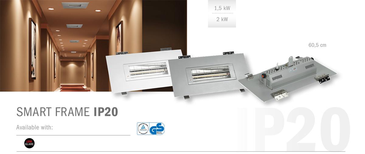 SMART FRAME IP20 Ceiling Radiant Heater – BURDA PerfectClime