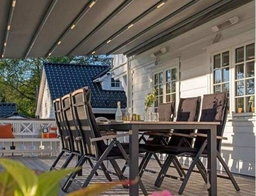 Tips for patio design with radiant heaters