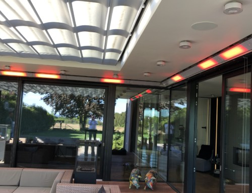 Extremely convertible: RELAX GLASS MODULAR heating system