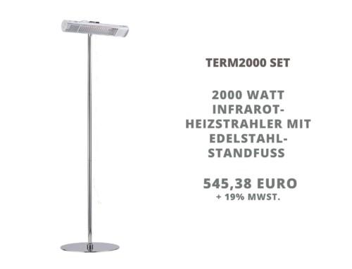 Neu im Sortiment: TERM2000 Set inklusive Standfuß