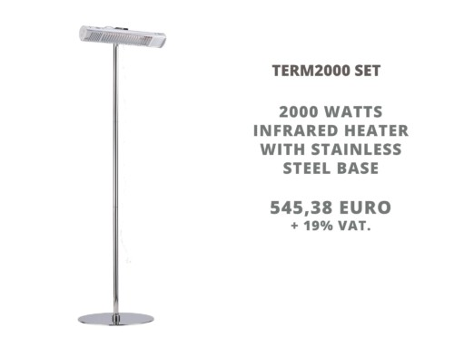 New: TERM2000 Set with stand