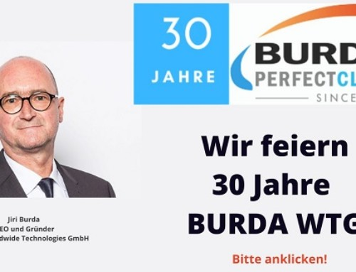 BURDA WTG feiert 30-jähriges Firmenjubiläum