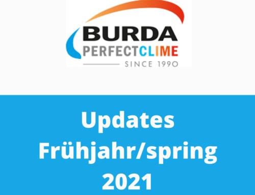 Updates im Frühjahr 2021